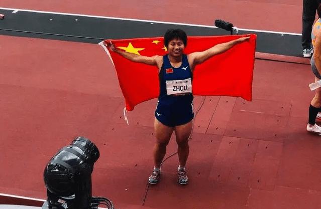 中国队残奥会第 10金!周霞百米T35级破世界纪录夺金