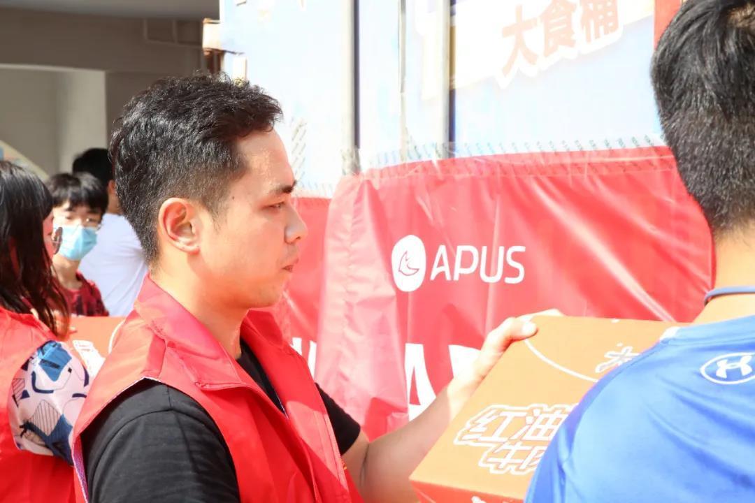 """驰援""""老家""""河南 APUS志愿者与时间赛跑"""